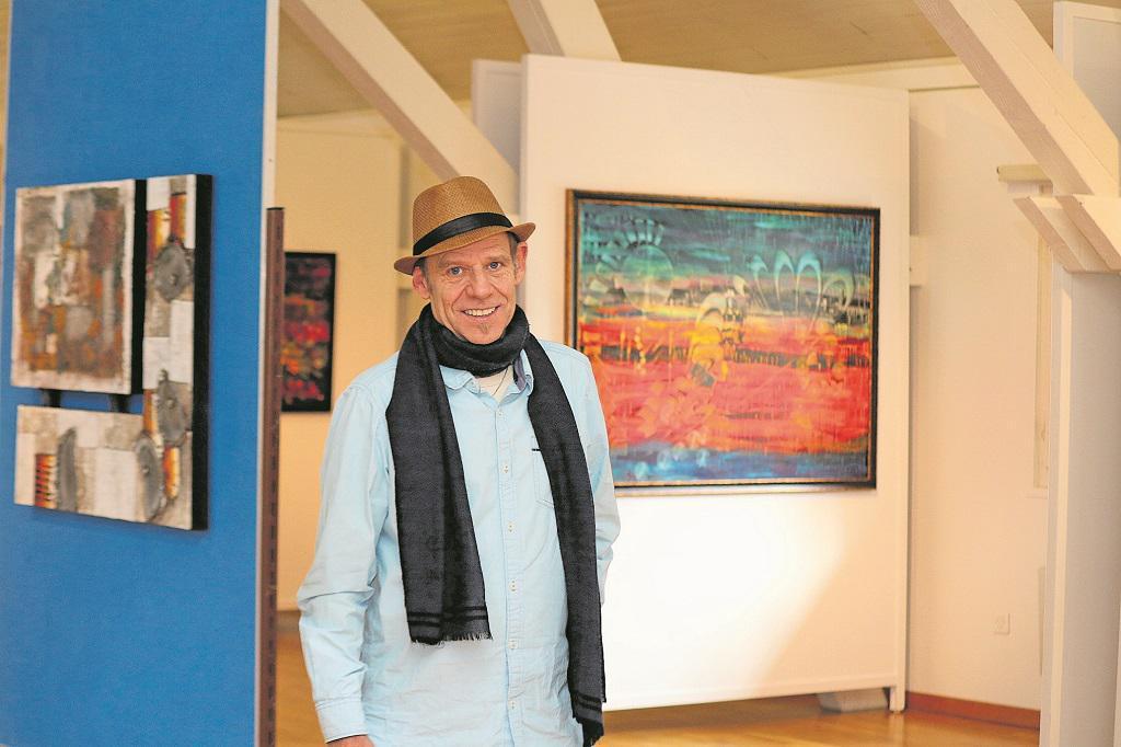 Per Obliqum – Nidwaldner Zeitung zur Ausstellung in Buochs